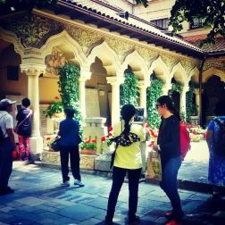 Thai tourists at Stavropoleos Convent