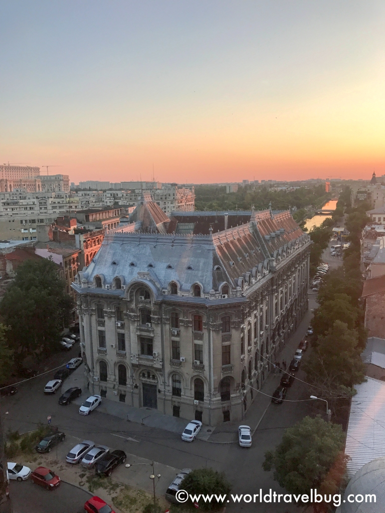 Rooftops of Bucharest